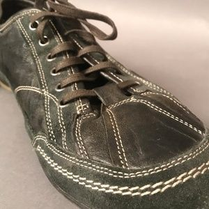 Bacco Bucci Leather & Suede Sneakers Size 12